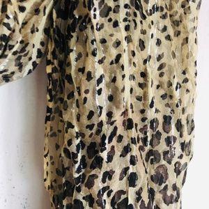 Accessories - Leopard / Animal Print Scarf
